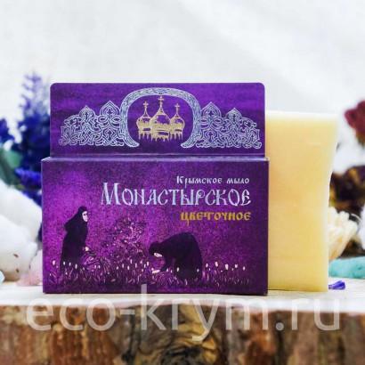 Мыло крымское натуральное «Монастырское Цветочное», 80 г