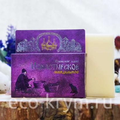 Мыло крымское натуральное «Монастырское Миндальное», 80 г
