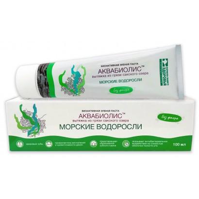 Зубная паста АКВАБИОЛИС Морские водоросли, 100 мл