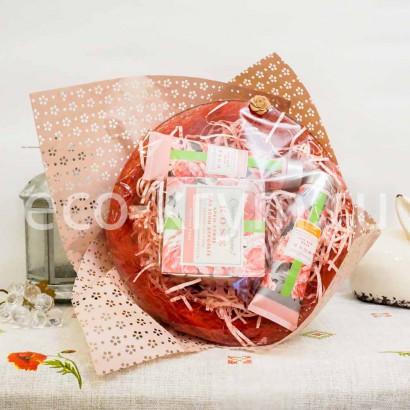 Набор подарочный ROSE букет (крем д/рук, крем д/ног, крем-суфле д/тела)