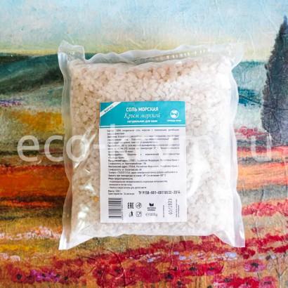 Соль морская КРЫМ МОРСКОЙ,  1 кг.