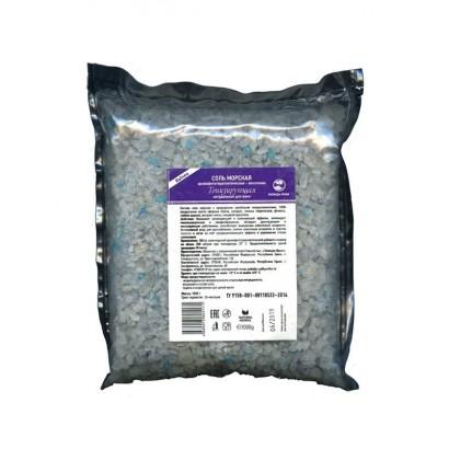 Соль морская ТОНИЗИРУЮЩАЯ, венотоник,  1 кг.