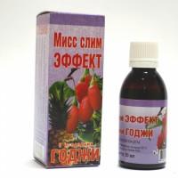 Сироп Мисс слим ЭФФЕКТ с ягодами Годжи, 50мл