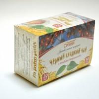 Чай черный со стевией и боярышником, 30 грамм (20 ф/п)