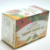Чай черный со стевией и каркаде, 30 грамм (20 ф/п)