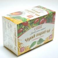Чай черный со стевией и кизилом, 30 грамм ( 20 ф/п)