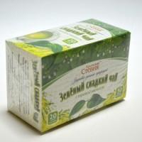 Чай зеленый со стевией и мелиссой, 30 грамм (20 ф/п)