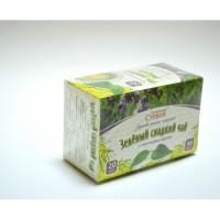 Чай зеленый со стевией и мятой, 30 грамм (20 ф/п)