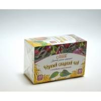 Чай черный со стевией и шиповником, 30 грамм (20 ф/п)