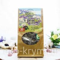 Чай зеленый чай с мятой, 50 грамм (ф/п) крафт