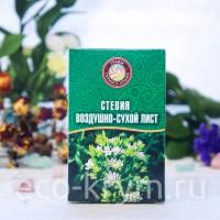 Травяной чай СТЕВИЯ (воздушно-сухой лист), 40гр