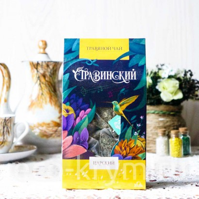 Травяной чай Стравинский ЦАРСКИЙ, н/п 50 гр