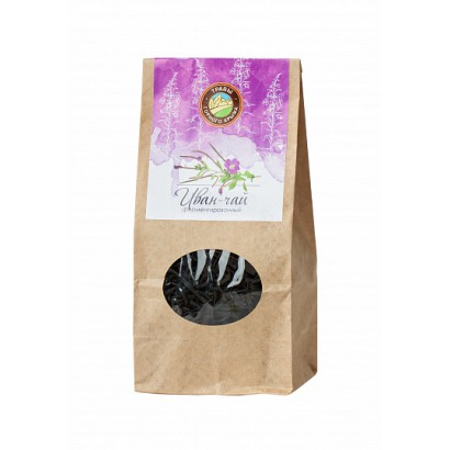 Чай ИВАН-ЧАЙ ферментированный, 50 грамм крафт.