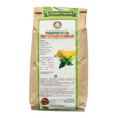 Травяной сбор Травоочиститель (противопаразит), 100 гр