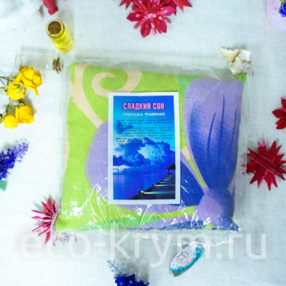 Травяная подушка Сладкий сон 25 см* 25 см