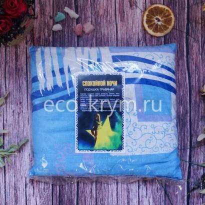 Травяная подушка Спокойной ночи 21 см* 21 см