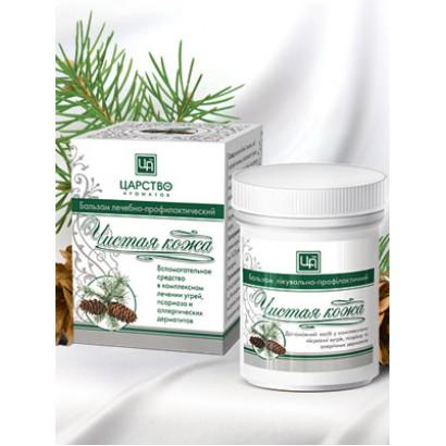 Бальзам «Чистая кожа» профилактический при угрях, псориазе и аллергических дерматитах, 42г
