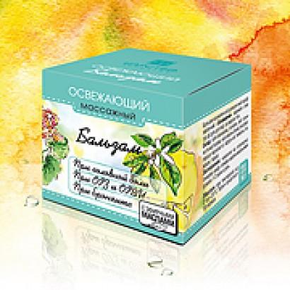 Бальзам «Освежающий» ароматический профилактический 14г