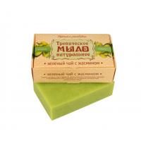 Мыло крымское натуральное «ЗЕЛЕНЫЙ ЧАЙ с жасмином»