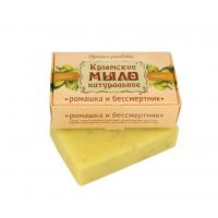 Мыло крымское натуральное «РОМАШКА И БЕССМЕРТНИК»