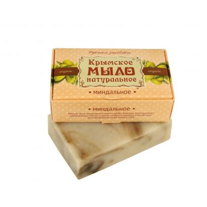 Мыло крымское натуральное «МИНДАЛЬ» 100г МДП